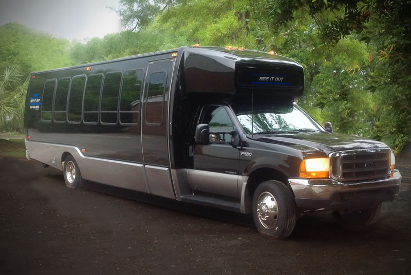 Ride It Out Conference, Expo and Tradeshow Transportation Bus